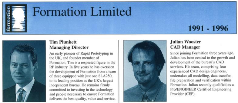 Tim Plunkett & Julain Wooster