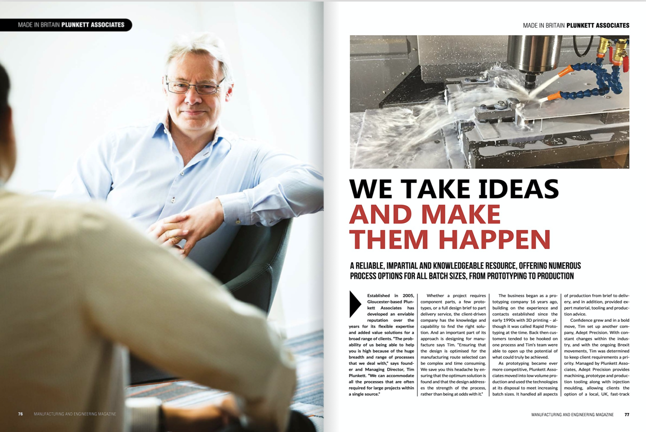 Plunkett Associates: WeTake Ideas and Make them Happen