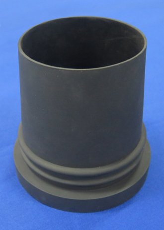 Compression moulded part