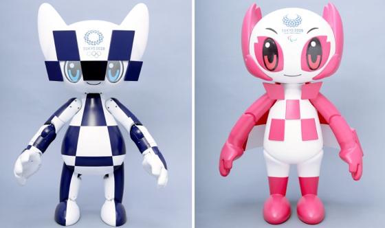 2020 Olympic Mascot Robots