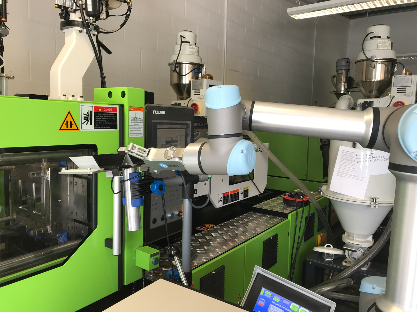 Adept injection moulding