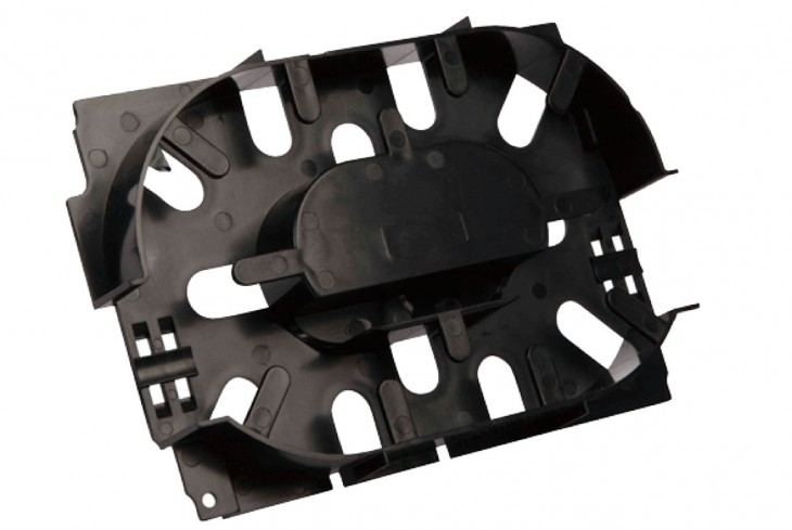 Injection moulded plastic prototype part