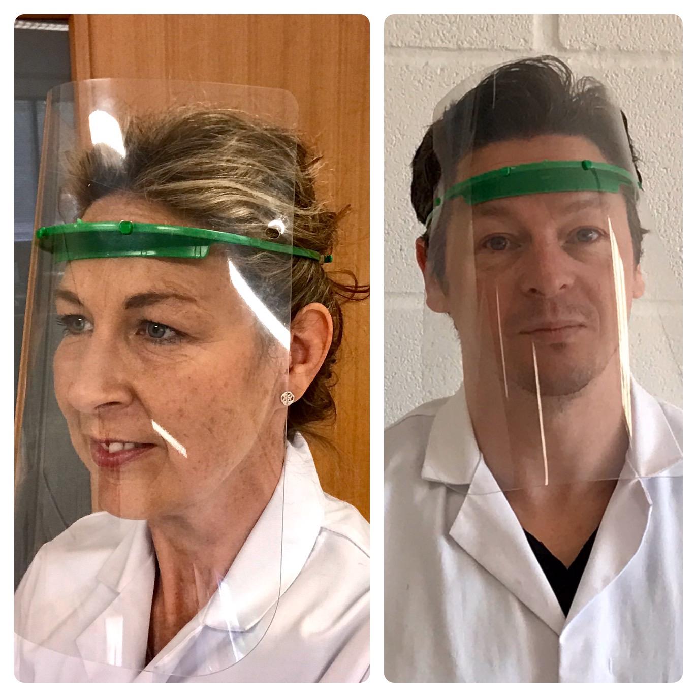 PPE face visors