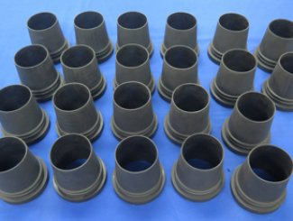 Compression Moulding ideal for low volume production rubber parts.
