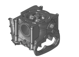 Cylinder Head has designs for DMLS.